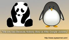 For latest update from panda and penguin visit our website http://www.eyesonnet.com