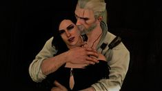 The Witcher 3 Yen/Geralt by LarvayneYuno