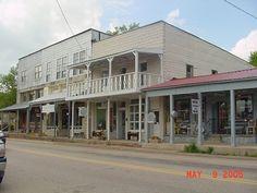 Down Town Hardy Arkansas My Hometown