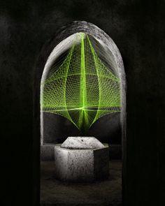 SÉBASTIEN PRESCHOUX http://www.widewalls.ch/artist/sebastien-preschoux/ #installation
