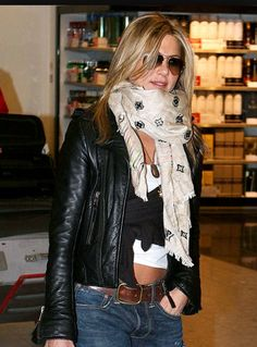 LV scarf.