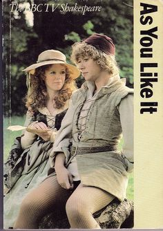 Angharad Rees as Celia in As You Like It -- brilliant and natural.