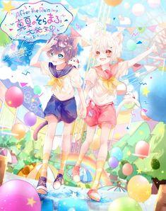 Anime People, Anime Guys, Like Animals, Aesthetic Anime, Anime Characters, Chibi, Boy Or Girl, Art Drawings, Anime Art