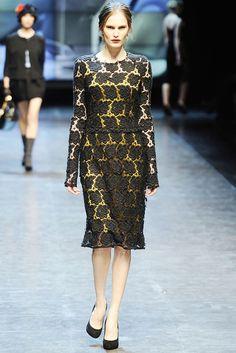Dolce & Gabbana Fall 2010 Ready-to-Wear Fashion Show - Alla Kostromichova