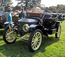 Steam car from the 1920s