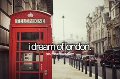 i dream of london