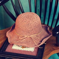 Handmade Sun Hats For Women Outdoor Summer Caps Large Brim Straw Hat 038522b14d08
