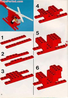 Lego helicopter instructions