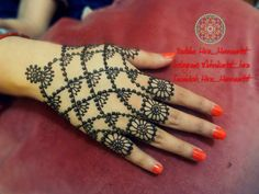 Mehndi For The Inspired Artist : Beautiful jewellery henna mehndi design by