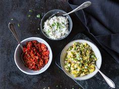 Cremig, würzig und fruchtig: Dreierlei Saucen für dein Fondue
