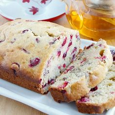 Easy Christmas Baking Ideas & Recipes - Cranberry Walnut Bread - Click Pic for 18 Fun Holiday Desserts