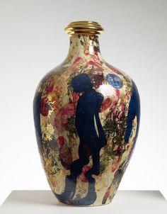 Potter Artist Grayson Perry (British: 1960) - In Praise of Shadows, 2005 - Glazed ceramic, 80 x 50 cm