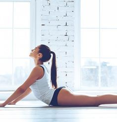 Yoga Fitness Flat Belly 5 poses de yoga pour un ventre plat - There are many alternatives to get a flat stomach and among them are various yoga poses. Yoga Fitness, Fitness Workouts, Yoga Gym, Easy Workouts, Easy Fitness, Fitness Style, Fitness Design, Cardio Gym, Crossfit