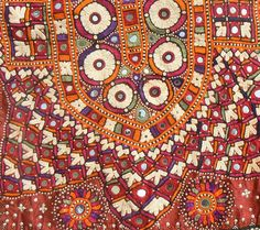 Embroidered choli (sari blouse) from Barmer, Rajasthan