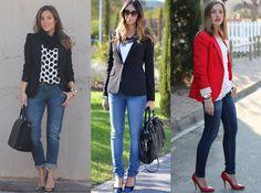 Olá meninas! Hoje vamos falar sobreo estilo Casual Chic, que é caracterizado por misturar roupa do dia-a-dia, tipo jeans escuros, calças d...