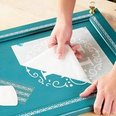Buy/create your own sticker design for doors or boxes. Cut by hand or with Silhouette Cameo