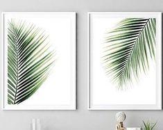 Leaf Print Wall Art Printable Palm Leaf Print Botanical | Etsy#art #botanical #etsy #leaf #palm #print #printable #wall Name Wall Art, Leaf Wall Art, Leaf Art, Art Tropical, Tropical Wall Decor, Leaf Prints, Wall Art Prints, Palm Tree Print, Fashion Wall Art