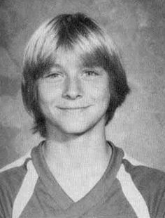 Kurt Cobain as a Kid