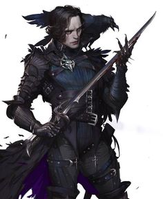 possible member of the 'order of the Crow'