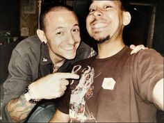 Chester Bennington & Mike Shinoda! Linkin Park