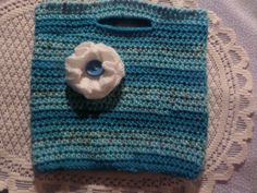 Your place to buy and sell all things handmade Girls Bags, Crochet Flowers, Hand Crochet, Handmade Crafts, Straw Bag, Shopping Bag, Little Girls, Turquoise, Trending Outfits