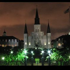 St. Louis Cathedral #New_Orleans, LA ~ http://VIPsAccess.com/luxury-hotels-new-orleans.html