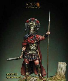 Ares Mythologic Historical Figure Kits - Spartan General