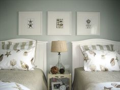 Twin Symmetry - 10 Beach-Chic Decorating Ideas From Rate My Space on HGTV