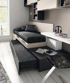 detalle de cama tipo torre youth bedroom ::: mobles tatat :::
