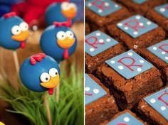 Galinha Pintadinha Cake Pops, Fondant, Lottie Dottie, Cake Pop Tutorial, Party Chicken, Chicken Painting, Ideas Para Fiestas, 2nd Birthday, Food Inspiration