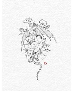 Tattoo Artist Ella on inktober day 12 - dragon All of my inktober designs will be available as tattoos at the end of the month! Ill take bookings for them on Small Dragon Tattoos, Dragon Tattoo For Women, Dragon Tattoo Designs, Small Tattoos, Tattoos For Women, Cool Tattoos, Cute Dragon Tattoo, Dragon Tattoo Drawing, Dragon Drawings