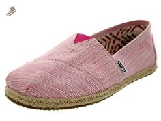 TOMS Women's Classics Space Dyed Flat Pink Size 9 B(M) US - Toms flats for women (*Amazon Partner-Link)