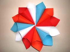 Kings Day, Love My Job, Origami, School, How To Make, Kids, Crafts, Decoration, Creativity