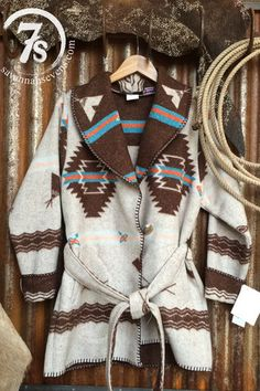 The Tonkawa – southwest teepee wrap coat from Savannah Sevens Western Chic