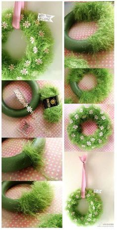Easter Wreaths, Holiday Wreaths, Mesh Wreaths, Holiday Decor, Diy And Crafts, Crafts For Kids, Arts And Crafts, Year Round Wreath, Craft Sale
