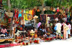 Market in Labadee,Haiti. This was an experience, love my sarong.