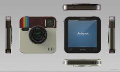 Instagram Socialmatic: A Concept Design for a Physical Instagram Camera