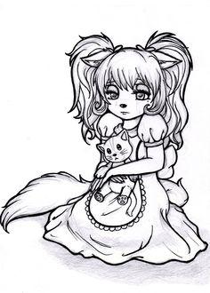 Sad Kitten Sketch by Art Work, To My Daughter, Kitten, Sad, My Arts, Sketches, Deviantart, Drawings, Inspiration