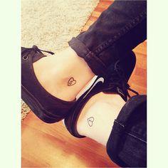 Cute boyfriend and girlfriend tattoos <3