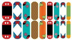 Fab Five Disney inspired Jamberry Nail Wraps!