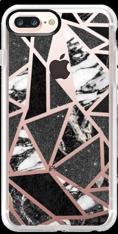 Casetify iPhone 7 Plus Case and iPhone 7 Cases. Other Pattern iPhone Covers - Chic Modern BW by BlackStrawberry   Casetify #iphone8pluscase,