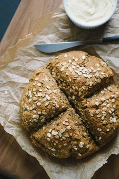 If you are intimidated by yeasted bread, give this super easy hazelnut honey oat bread a try. It's vegan and is ready for the oven in less than 15 minutes!