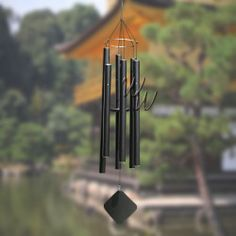 """Music Of The Spheres 60"""" Wind Chime - Japanese Tenor #MadeintheUSA #handtuned #soprano #whimsicalwinds #windchime #exclusive   Shop for your perfect wind chime today at whimsicalwinds.com"""