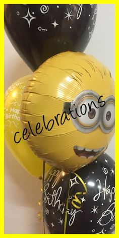 Minions have arrived available at celebrations  www.celebrationsnsw.com