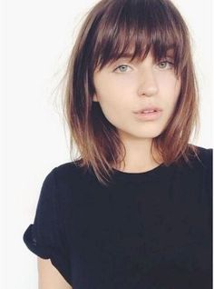 French bob haircut with bangs natural hairstyles hair beautiful best 48 hairstyles with bangs youll want to copy https urmus Image collections