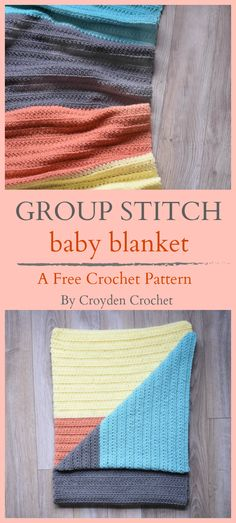 Fashion Tips Color Learn to crochet this sweet and colorful Group Stitch Baby Blanket with this free pattern from Croyden Crochet. Tips Color Learn to crochet this sweet and colorful Group Stitch Baby Blanket with this free pattern from Croyden Crochet. Crochet Blanket Patterns, Baby Blanket Crochet, Knitting Patterns, Crochet Blankets, Baby Blankets, Crochet Classes, Learn To Crochet, Crochet Projects, Cute Crochet