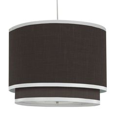 Oilo Modern Berries Solid Double Cylinder Light in Brown