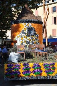France : Au pays de la lavande : Corso de la lavande à Digne-les-bains