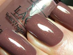 Wooden Shoe Like to Know? is a warm taupey shade with the same shimmer as Dutch 'Ya Just Love OPI?,