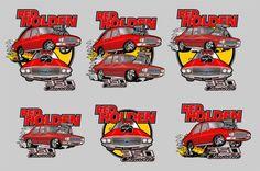 Holden Premier HQ red
